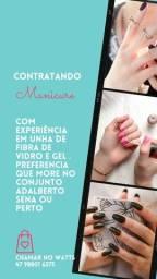 Título do anúncio: contrato Cabeleira e manicure