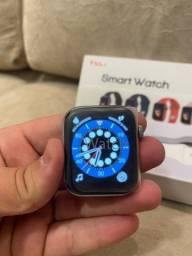 Smartwatch top de linha t55+ idêntico ao Apple Watch