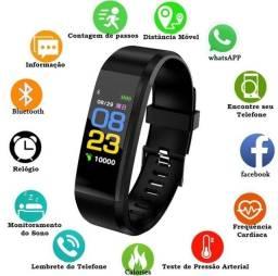 Smartband Relógio Inteligente 115 Plus - Smartwatch Bluetooth - Pulseira Fitness