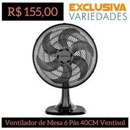 Título do anúncio: Ventilador de Mesa Turbo 6 Pás 40CM Ventisol