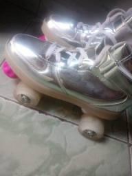 Vendo patins quad 4 roda