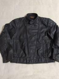 Jaqueta masculina em couro legítimo Masculino kalline