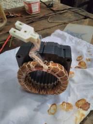 Bobina do motor da geladeira Consul