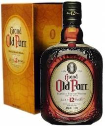 Whisky Old Parr 1litro - 12 Anos