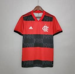Camisa do Flamengo temporada 21/22