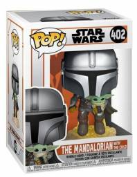 Funko Pop Star Wars The Mandalorian with the Child 402