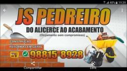 Título do anúncio: Pedreiro serviço  em Gerais