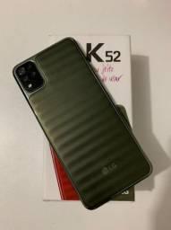 LG K52 com caixa e nota fiscal