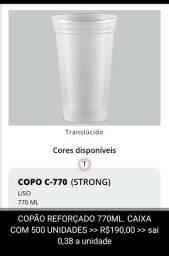 COPO REFORÇADO 770ML (sai 0.38 centavos a unidade)