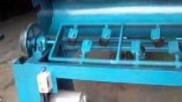 Máquina desbobinar, endireitar e cortar ferro - Usadas
