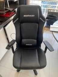 Cadeira Gamer MaxRacer Bunker Massagem SMI Regen Preta