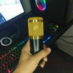 Título do anúncio: Microfone BM800 NOVO E COM ACESSÓRIOS