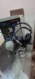 Headset Kingo F02 LED