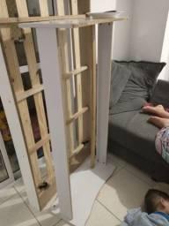 Cama auxiliar e mini cama
