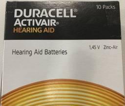 Bateria Duracell nº 13  aparelho auditivo