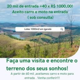 EC- Loteamento em Igaratá 500mts da represa