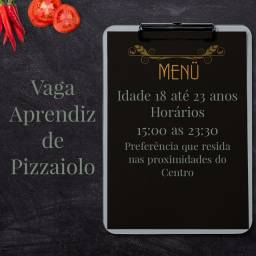 Título do anúncio: Vaga para Aprendiz de Pizzaiolo - Leia o Anúncio com ATENÇÃO!
