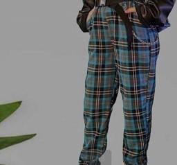 calça flanela confortável boa para usar e moderninha