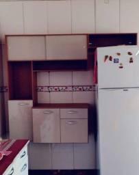 Armário para cozinha simples e barato suspenso beje