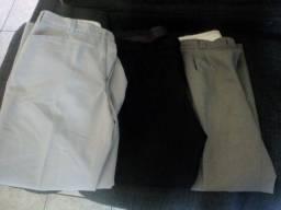 Calças masculinas para brechó