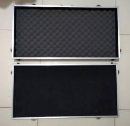 Hard case para pedais,pedaleira 80 x 40 x 12