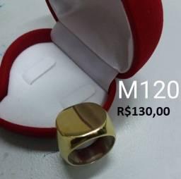 Anéis e dedeiras em moeda antiga/ não perdem a cor