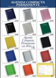 Agenda compacta,Agenda de bolso, Agenda semanal e caderneta de anotações