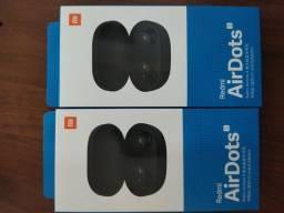 Fone De Ouvido Bluetooth Xiaomi Redmi Airdots S Novo