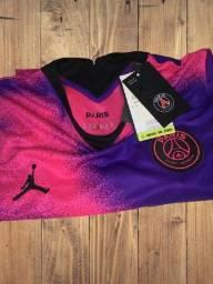 Camisa Psg Rosa á pronta entrega