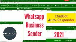 Whatsapp Business Sender Chatbot 2021