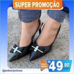 Sapato de Salto Vizzano e Beira Rio (Novo)