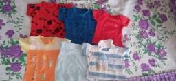 Título do anúncio: Vendo 3 kits de roupinhas de bebê contendo 18 peças