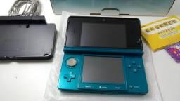 Nintendo 3DS Aqua Blue ORIGINAL