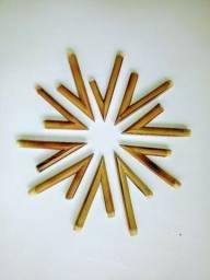 Atacado 10 kuripes de bambú tratado, lixado e no ângulo certo