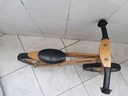 Bicicleta madeira balance Smart Gear