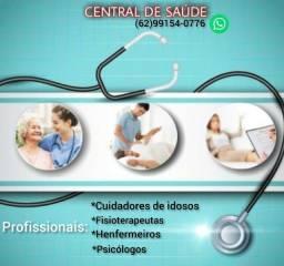 Fisioterapia domiciliar,fisioterapeuta,cuidador de idosos ,psicóloga,enfermeiros  covid-19
