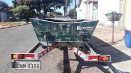 Kit pesca canoa motor carreta - 2010
