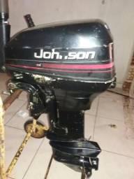 Motor de barco,johnson 15hp - 1999