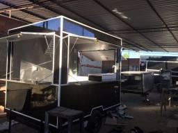 Food trailer lulla carretas