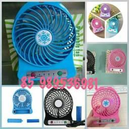 Mini ventilador portátil de mão