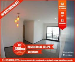 Tulipa - Vieiralves - 03 quartos - 02 garagens (01 suíte e 01 semi suíte)