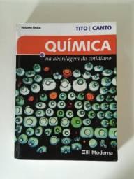Livro Química Na Abordagem Do Cotid. 3ª Edição Ótimo Estado