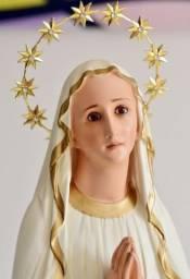 Imagem em resina de Nossa Senhora de Lurdes