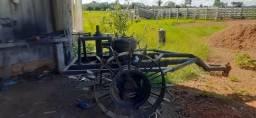 Roçadeira hidráulica para roçar pasto