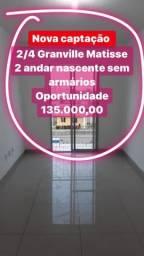 Oportunidade 2 quartos Lauro comdominio fechado 2 andar 135 mil