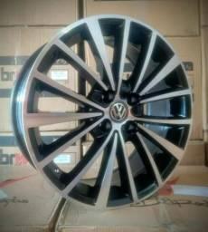 Rodas VW Jetta TSI aro 17 novas parcela até 24x no carnê e cheque