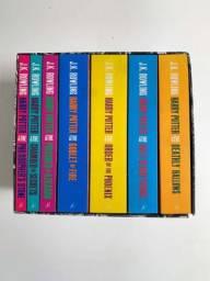 Coleção de livros Harry Potter em Inglês - Capa Adulta