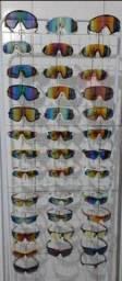 Óculos para ciclistas e corredores