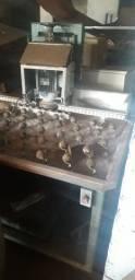 Máquina lapidar vidros