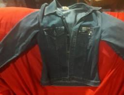 Jaqueta jeans masculina P